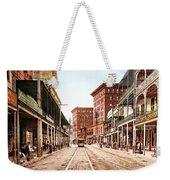 St Charles Street New Orleans 1900 Weekender Tote Bag by Unknown