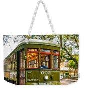 St. Charles Streetcar 2  Weekender Tote Bag
