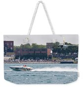 St. Clair Michigan Usa Power Boat Races-4 Weekender Tote Bag