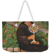 St. Clare Of Assisi Weekender Tote Bag