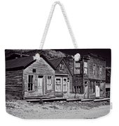 St Elmo In Black And White Weekender Tote Bag