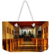 St Francis De Paula Mission Tularosa Weekender Tote Bag by Bob Christopher