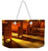 St Francis De Paula Shadow And Light Weekender Tote Bag