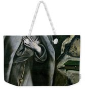 St Francis Of Assisi Weekender Tote Bag