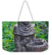 St Francis Of Assisi Garden Statute Weekender Tote Bag