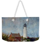 St. George Island Historic Lighthouse Weekender Tote Bag