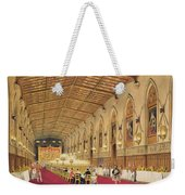 St Georges Hall At Windsor Castle Weekender Tote Bag