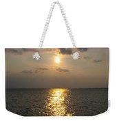 St George's Island Sunset Weekender Tote Bag