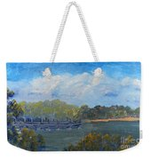 St Georges River Near Como Marina  Weekender Tote Bag