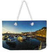 St Hellier Harbour  Weekender Tote Bag