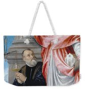 St. Jerome And A Donor Weekender Tote Bag