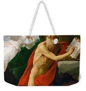 St Jerome Weekender Tote Bag