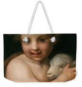 St. John The Baptist With The Lamb Weekender Tote Bag