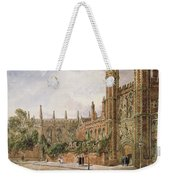 St. Johns College, Cambridge, 1843 Weekender Tote Bag