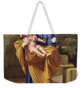 St. Joseph Carrying The Infant Jesus Weekender Tote Bag
