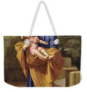 St. Joseph Carrying The Infant Jesus Weekender Tote Bag