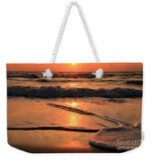 St. Joseph Sunset Swirls Weekender Tote Bag