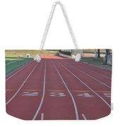 St Josephs University Track Weekender Tote Bag