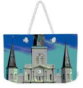 St Louis Cathedral 3 Weekender Tote Bag