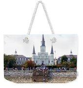 St Louis Cathedral Weekender Tote Bag