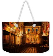 St. Louis Cathedral New Orleans - Textured Weekender Tote Bag