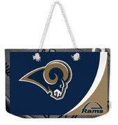 St Louis Rams Weekender Tote Bag