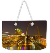St Louis Skyline With Special Zoom Effect Weekender Tote Bag