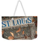 St Louis Street Tiles In New Orleans Weekender Tote Bag