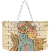 St Luke The Evangelist Weekender Tote Bag