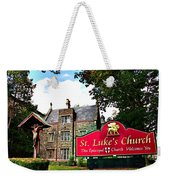 St Lukes Church Weekender Tote Bag