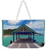 St. Maarten Pier Weekender Tote Bag