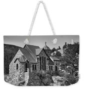 St Malo Chapel On The Rock Colorado Bw Weekender Tote Bag