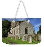 St Margaret's Church - Wetton Weekender Tote Bag