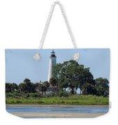 St Marks Lighthouse Weekender Tote Bag
