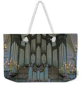 St Martins In The Field Organ Weekender Tote Bag