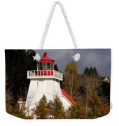 St. Martins Lighthouse Weekender Tote Bag