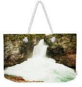 St Mary Falls Glacier National Park Weekender Tote Bag