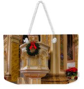 St. Mary Of The Angels Christmas Lectern Weekender Tote Bag