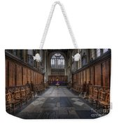 St Mary The Virgin Church - Choir And Altar Weekender Tote Bag