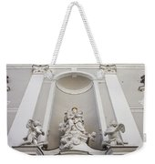 St Michael Church Sculptures In Budapest Weekender Tote Bag