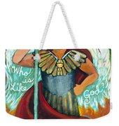 St. Michael The Archangel Weekender Tote Bag