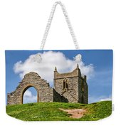St Michael's Church - Burrow Mump 4 Weekender Tote Bag