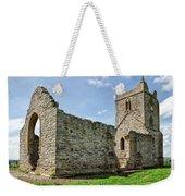 St Michael's Church - Burrow Mump 5 Weekender Tote Bag