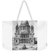 St. Paul Cathedral - London - 1792 Weekender Tote Bag