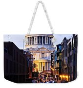 St. Paul's Cathedral London At Dusk Weekender Tote Bag