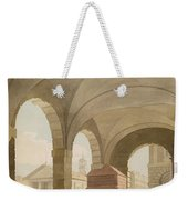 St. Pauls, Covent Garden C.1765-75 Graphite And Wc On Paper Weekender Tote Bag
