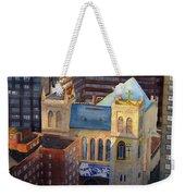 St Pauls Nyc Weekender Tote Bag