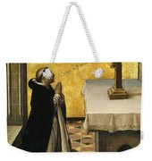 St. Peter Martyr In Prayer Weekender Tote Bag