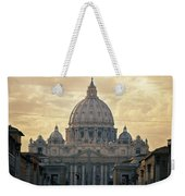 St Peter's Afternoon Glow Weekender Tote Bag