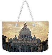 St Peter's Afternoon Glow Weekender Tote Bag by Joan Carroll